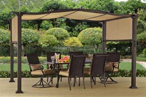 replacement canopy   homes garden emerald coast pergola  outdoor patio store