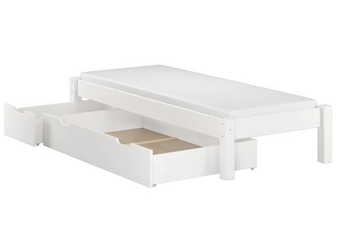 futonbett ohne kopfteil weisses futonbett ohne kopfteil massiv 90x200 bettgestell