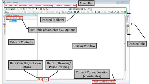 arcmap layout view page size learngis meet arcmap