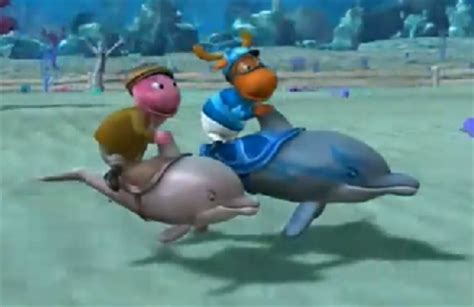 the greatest dolphin race the backyardigans wiki