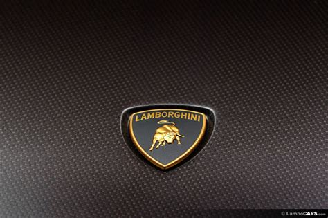 lamborghini symbol on car lamborghini logo wallpapers hd pictures background images