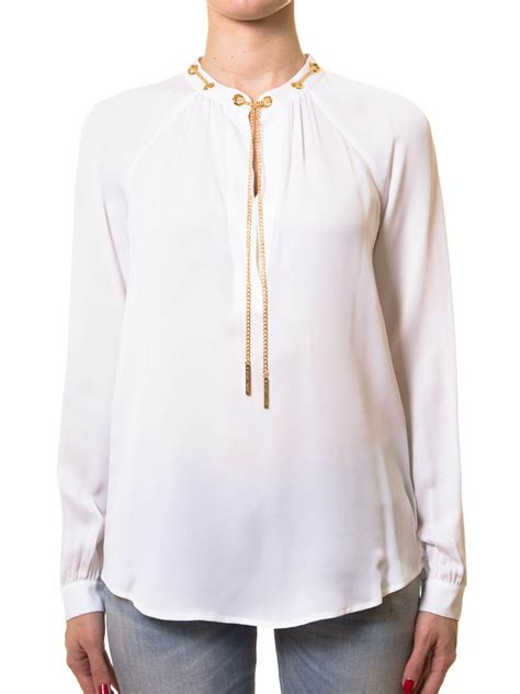Neackless Chain Blouse chain necklace blouse by michael kors blouses ikrix