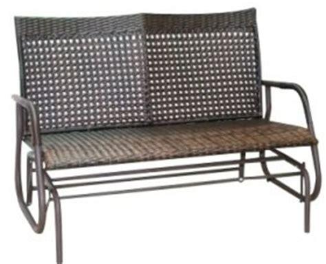 2 seater glider bench 2 seater gliding wicker glider garden bench outdoor indoor