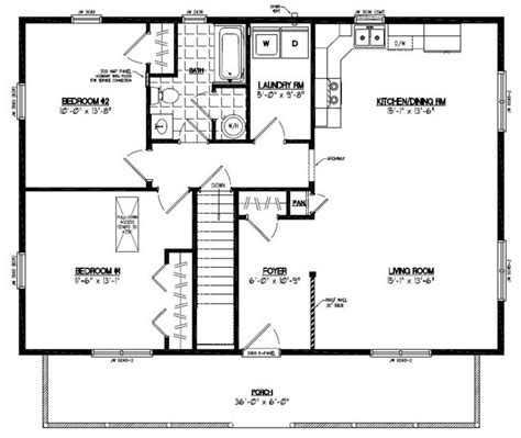 2 bed 2 bath floor plans top 20 metal barndominium floor plans for your home