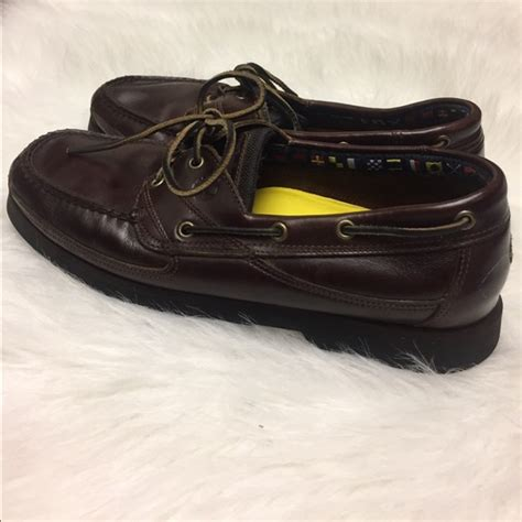 timberland boat shoes size 5 timberland shoes brown leather boat size 115 poshmark