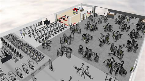 equipment layout en français professional gym design 101 fitness by design 174 gym