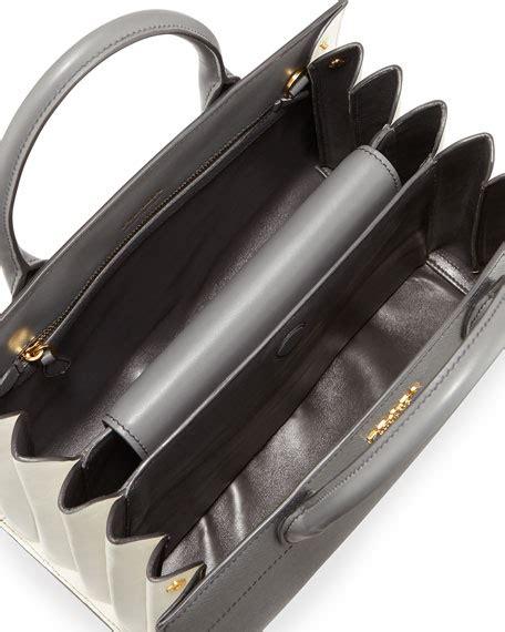 20 4 New Prada Bibliotheque Textured Tote Bag Like Ori Taiga Leather prada biblioth 232 que medium saffiano top handle tote bag