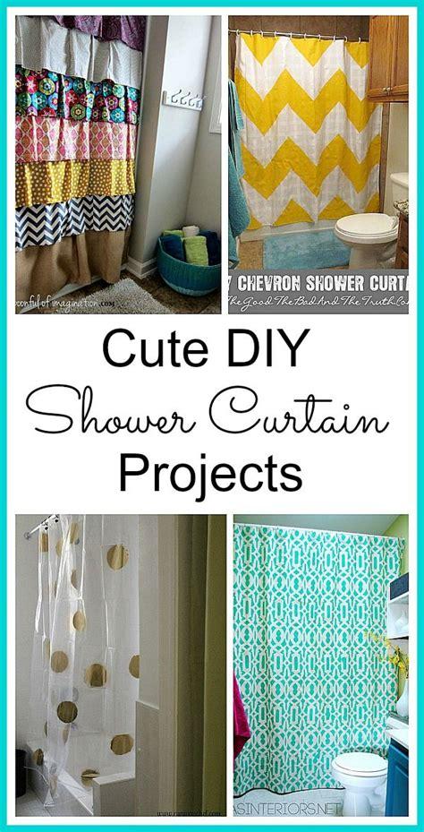 diy bathroom curtain ideas 25 best ideas about diy shower on pinterest diy