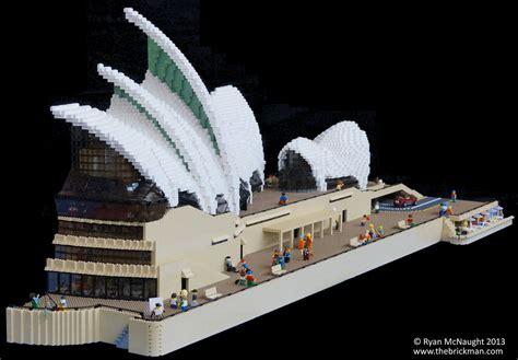 the sydney opera house built from lego boxmash