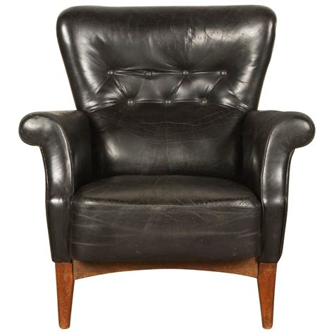 black leather armchairs black leather armchair by finn juhl for sale at 1stdibs