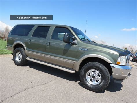 2002 Ford Excursion Limited 7. 3 Powerstroke Turbo Diesel