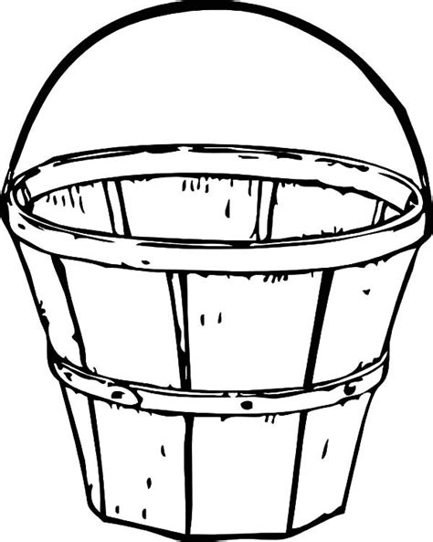 water bucket coloring page water bucket coloring coloring pages