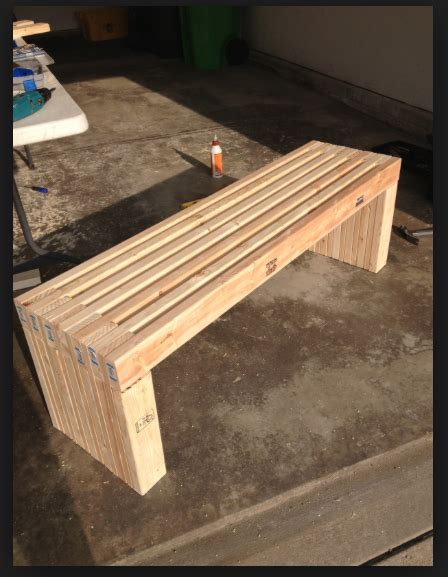 2x4 woodworking bench diy 2x4 bench garden benches pinterest 2x4 bench