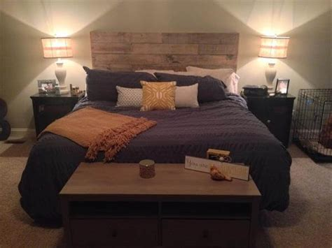 how to make a headboard out of pallets wooden headboard out of pallets 99 pallets