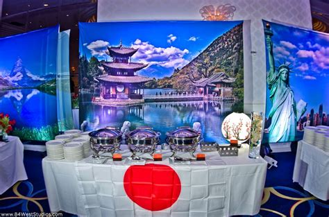 world themed events daniel s quot around the world quot travel themed bar mitzvah at