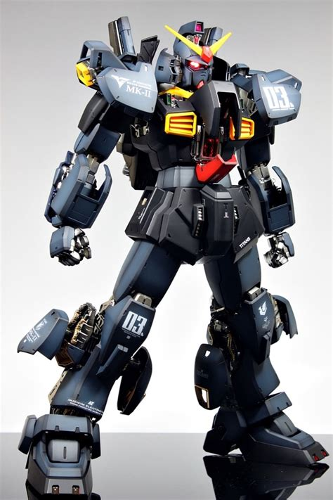 Gundam Mk Ii gundam pg 1 60 rx 178 gundam mk ii painted build