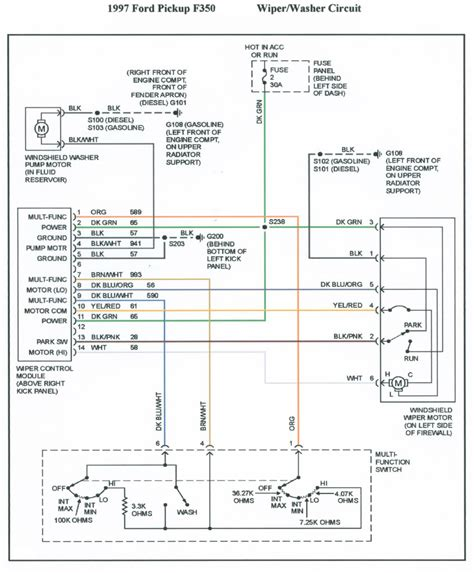 1997 ford f 350 radio wiring diagram free