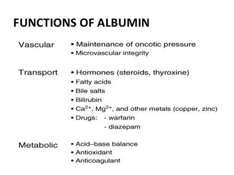 what do salt ls do indicatins of salt free albumin
