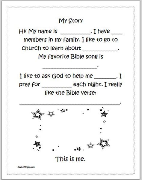 printable toddler stories 17 best images about ucumc kid s worksheet on pinterest