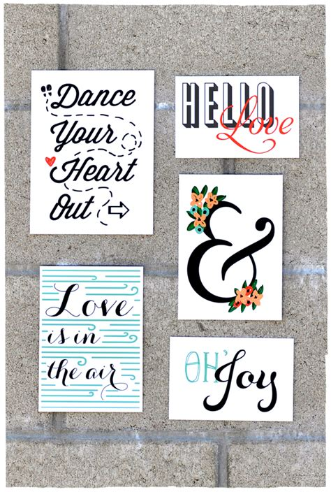 cool printable wall art 5 cool free printables for project life one velvet
