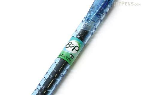 Bottle Gel Pen pilot b2p bottle to pen gel pen 0 7 mm blue ink