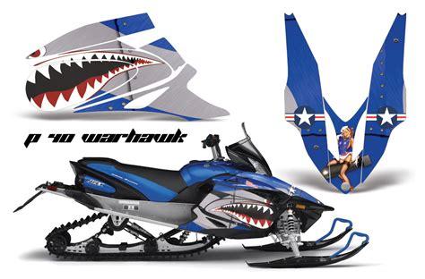Yamaha Nytro Sticker Kits 2006 2010 yamaha apex sled graphic kit by amr racing