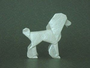 Origami Poodle - 1000 images about oragomie on scottie dogs