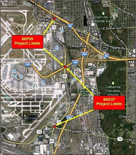 100 ohare airport map map of chicago o hare airport