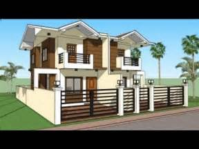house models and plans in india duplex house india modern house plans and design model norenda youtube