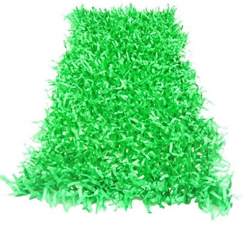 How To Make Grass Out Of Tissue Paper - 15 quot x 30 quot green tissue grass decoration garden