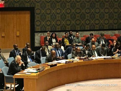 Anatolio Ndong Mba Protagoniza La Celebración De Guinea Ecuatorial by Guinea Ecuatorial Rechaza El Uso De La Fuerza En Las