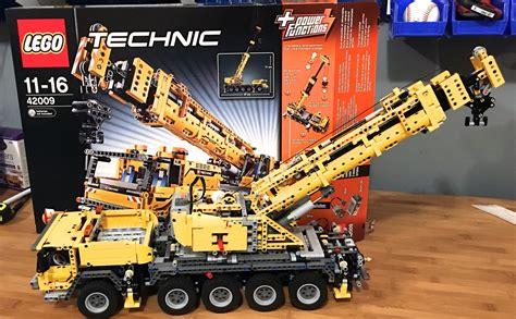 lego technic mobile crane mk ii lego technic 42009 mobile crane mk ii built complete ebay