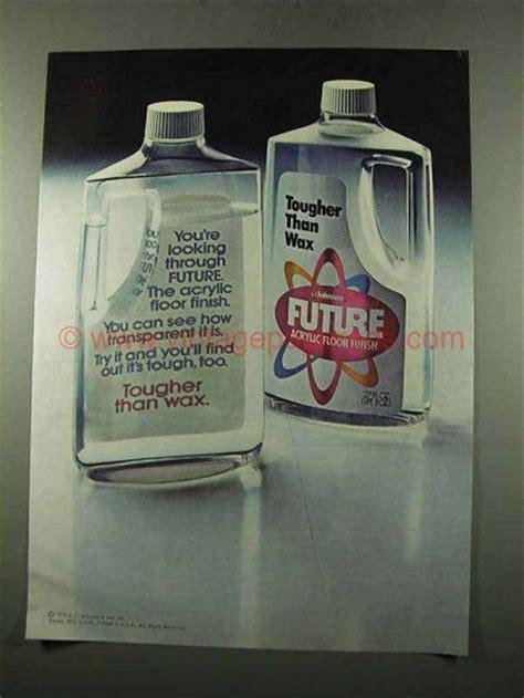 Future Acrylic Floor Finish by 1975 Johnson Future Acrylic Floor Finish Ad