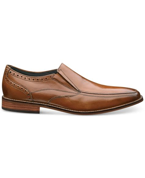 florsheim loafers for florsheim s castellano loafers in brown for lyst