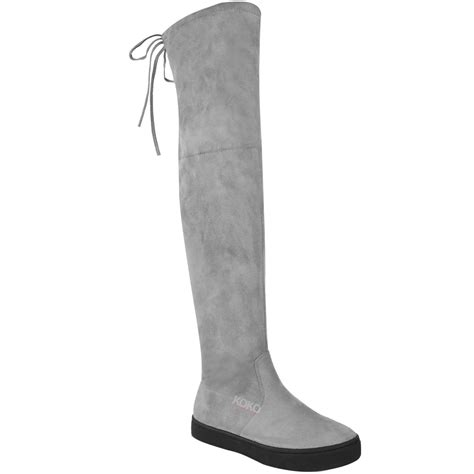 white thigh high boots low heel white thigh high boots low heel coltford boots