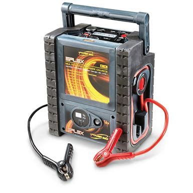 guide gear 5 in 1 jumpstarter with power inverter and air compressor 206712 chargers jump