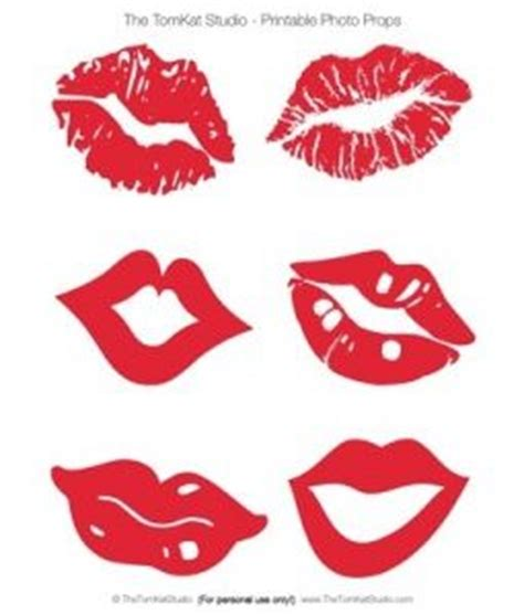 printable photo booth props lips pinterest the world s catalog of ideas