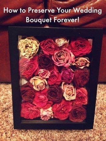 Best 25  Preserve wedding bouquets ideas on Pinterest