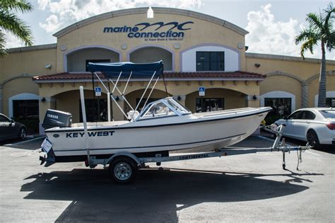 boat trailer parts west palm beach used 2006 key west 172 dc dual console boat for sale in