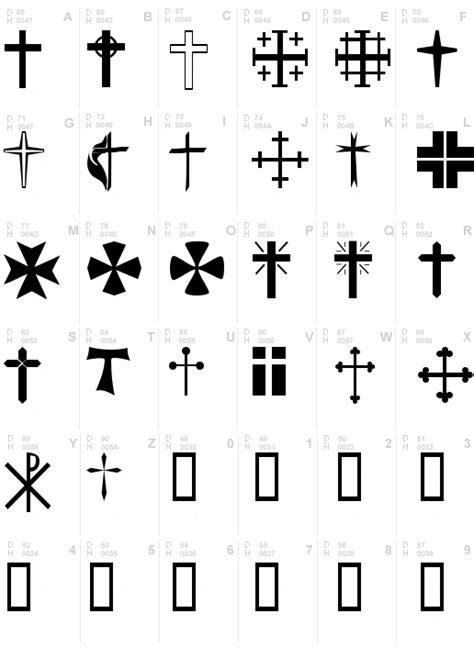 Christian Crosses Font, Download Christian Crosses .ttf ... G Design Letter