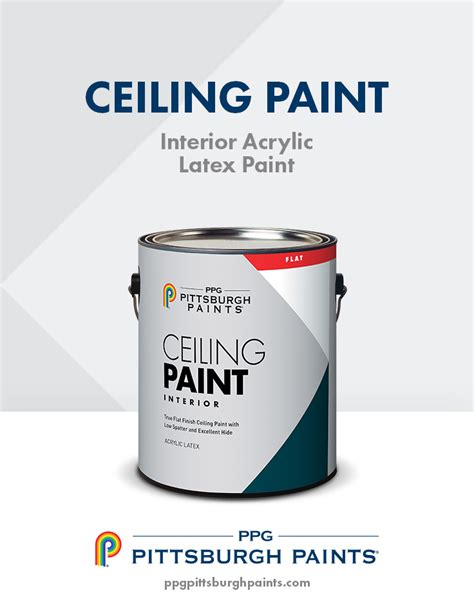 ppg pittsburgh paints interior acrylic ceiling paint