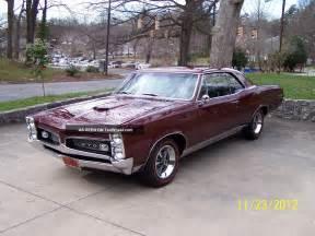 Gto Pontiac 1967 1967 Pontiac Gto