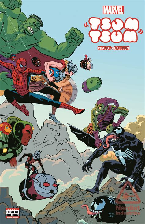 Tsum Tsum New tsum tsum invades the marvel universe in new comic book