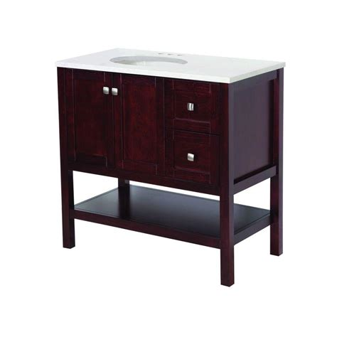 St Paul Bathroom Vanity by St Paul Sydney 36 In Vanity In Cherry With