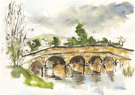 Five Minute Sketching Architecture sketch bridges 183 extract from five minute sketching