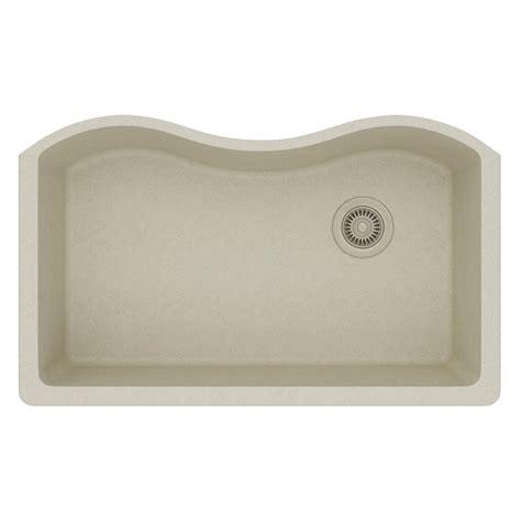 quartz kitchen sinks elkay quartz classic undermount composite 33 in single basin kitchen sink in mocha