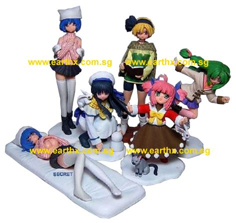 Dgp Gashopon Set 4 earth x toys and collectibles