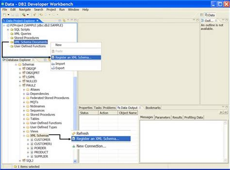 xsd pattern regular expression email registering xml schema in db2 9 using visual studio 2005