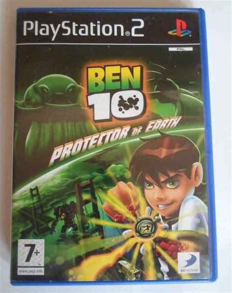 Cd Playstation Buku Ps 2 Ben 10 ben 10 protector of earth for playstation 2 ps2