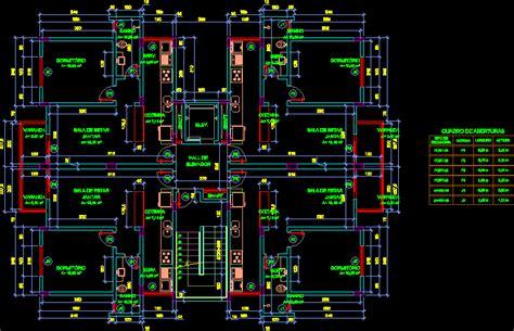 apartment dwg block  autocad designs cad
